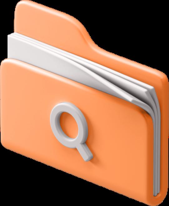 folder + search
